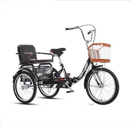Vélo VE Tricycle Vélo Large sattelsitz avec Dossier NEUF