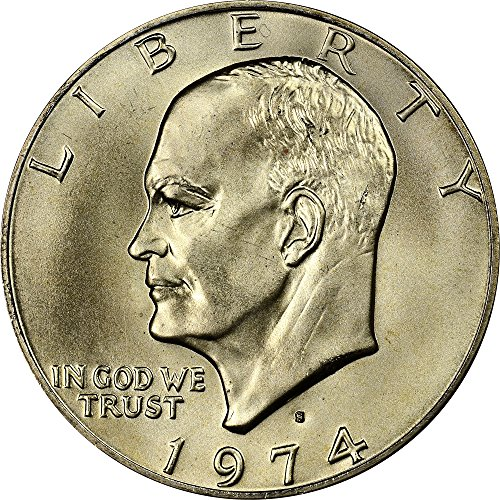 - 1974 S Dwight D. Eisenhower Ike $1 Proof DCAM+