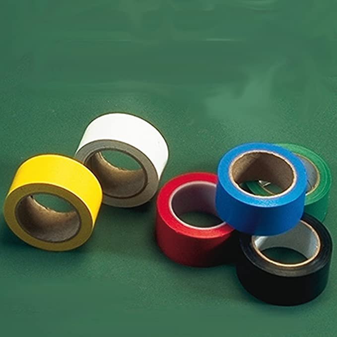 BADMINTON SPORTS INDOOR PLAYING BOUNDARY LINE MARKER MARKING FLOOR TAPE 1 1//2/""