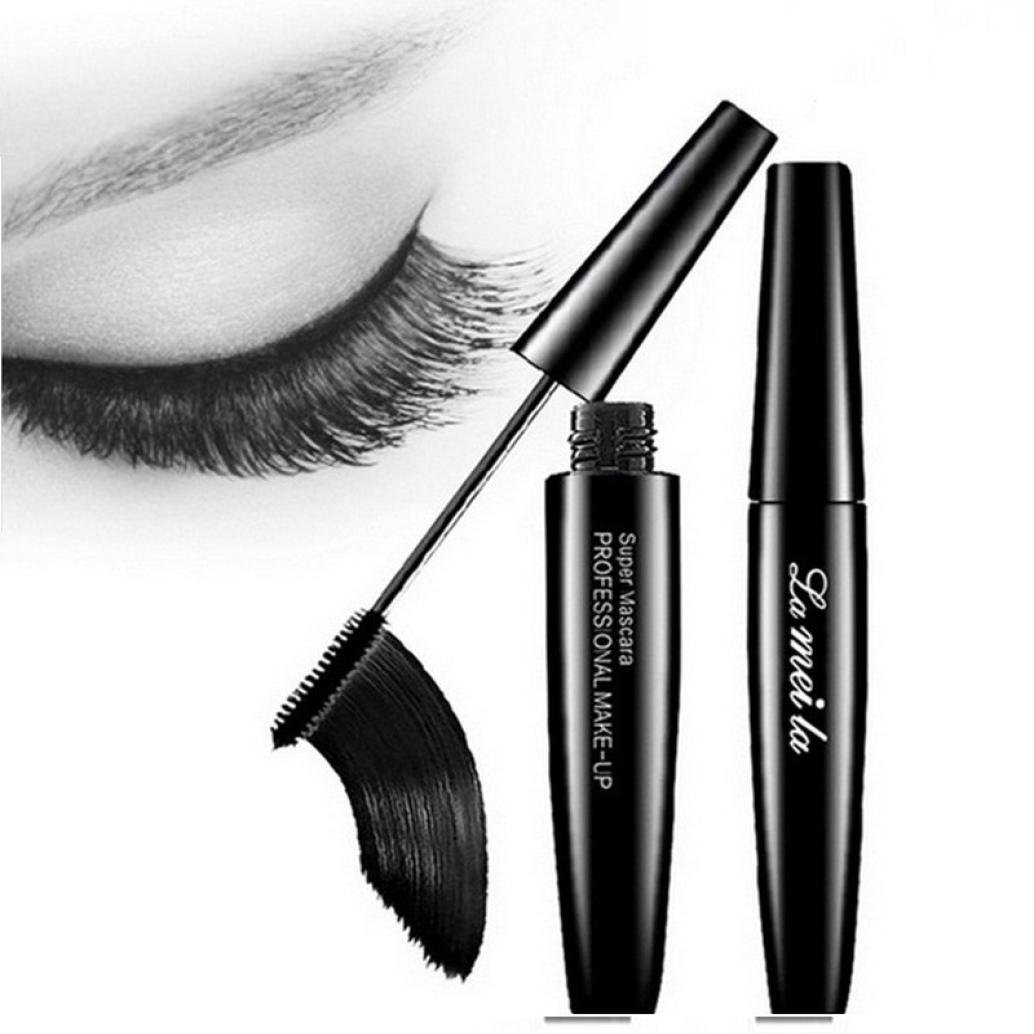 FTXJ Women Makeup Total Temptation Washable Mascara, Blackest Black Volumizing Mascara (Black)