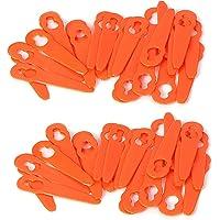 Chuancheng 80 stks Plastic Messen Cutter Voor STIHL FSA 45 Draadloze Strimmer Gras Trimmer Graden Tool