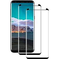 POOPHUNS 2 Pezzi Pellicola Protettiva Vetro Temperato per Samsung Galaxy S8, Galaxy S8 Protezione Schermo Trasparente Ultra Resistente, Anti-Graffi, Anti-Impronte