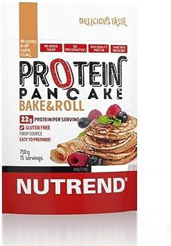 Nutrend MPI PROTEÍNA PANCAKE y WPC 750 g sabor natural saludable sin gluten, fácil y rápida alternativa de alimentos Otros preparados no sólo para el ...