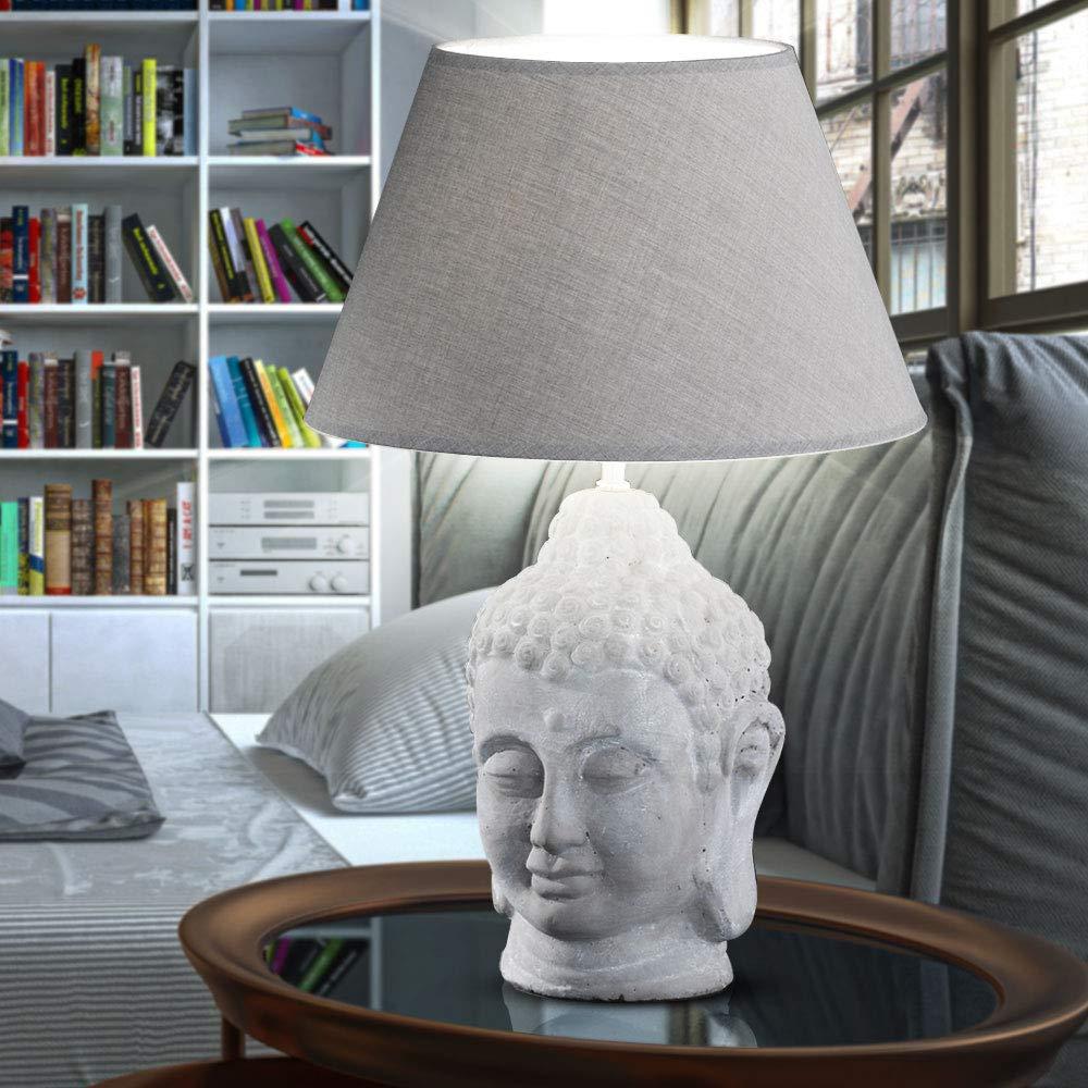 Chrom LED Schreib Tisch Lampe Leuchte Wohn Zimmer Flur Diele Glas Big.Light