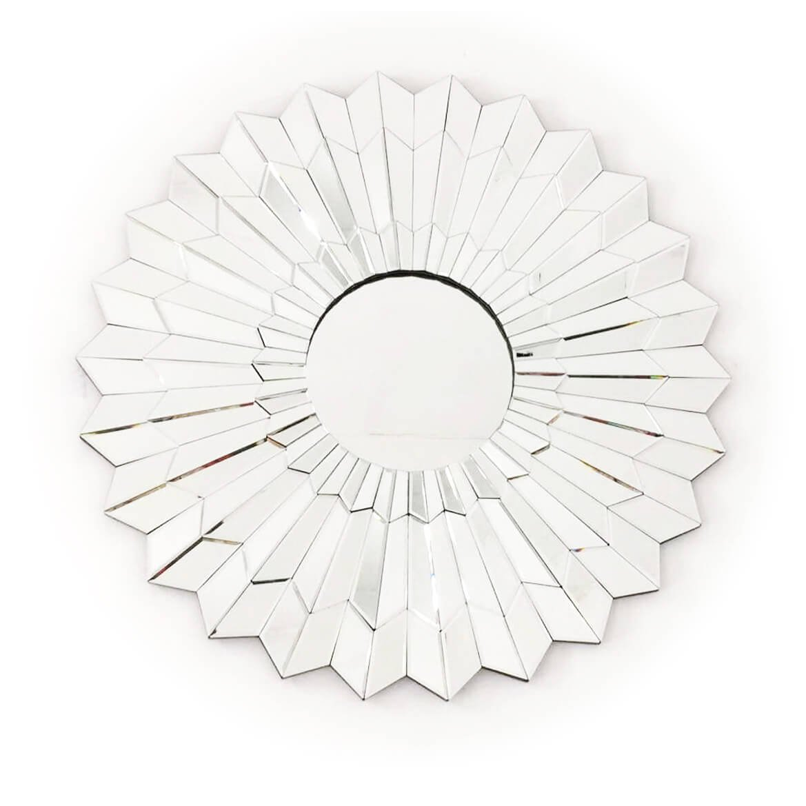 Fab Glass and Mirror FAB-WSTC018 Decorative Sunburst, Bathroom Wall