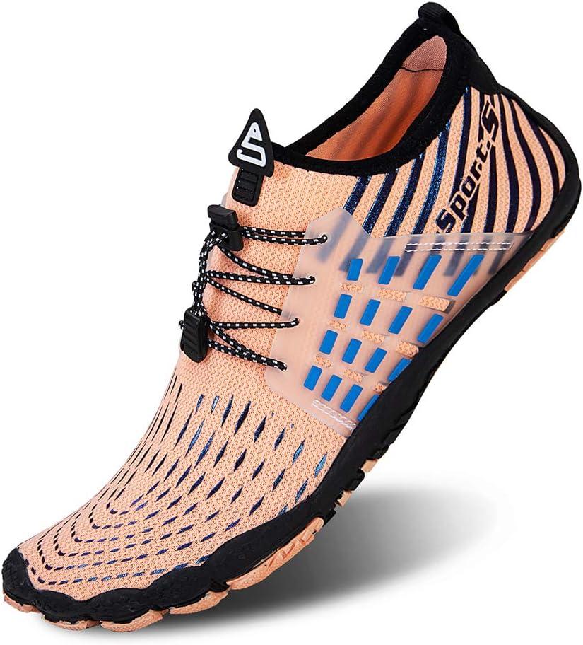 jard/ín Escalada Ligera al Aire Libre WateLves Zapatos de Surf para Hombres y Mujeres Senderismo Piscina Antideslizante de Secado r/ápido Zapatos para el Agua