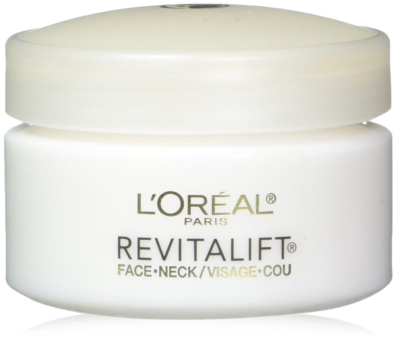 L'Oréal Paris Revitalift Anti-Wrinkle + Firming Face & Neck Cream, 1.7 oz.