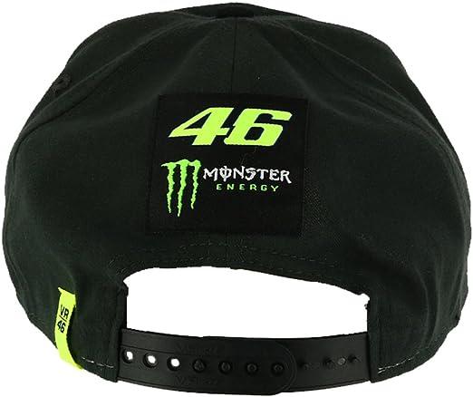 Valentino Rossi VR46 Moto GP Monster Energy Dual Flat Peak Gorra ...
