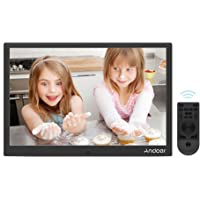 Andoer 12 inch Digital Photo Frame 1280 * 800 Resolution with Remote Control (Black)