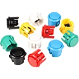 EG Starts OEM 12x 30mm Push Button Switch Copy Sanwa Obsf-30 Obsc-30 Obsn-30 Buttons DIY Arcade Fighting Game Kits & Super St