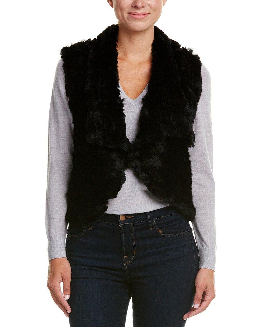 Love Token Womens Carter Vest, S, Black