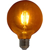 Lampada de Filamento LED G95 Squirrel Cage 4W Bivolt