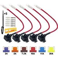 FULARR® 5Pcs Premium ACN Perfil Bajo Add-A-Circuit Fusible