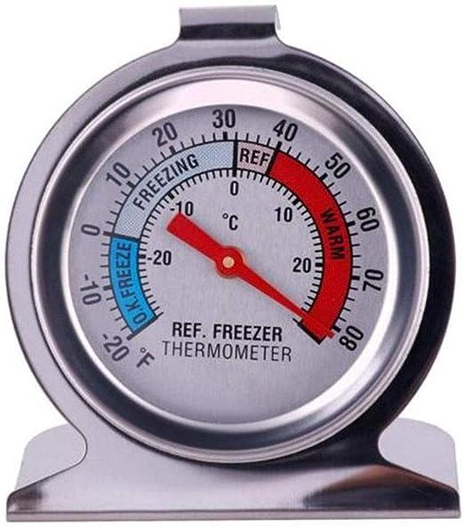 Compra Neborn Refrigerador con congelador Termómetro Refrigerador ...