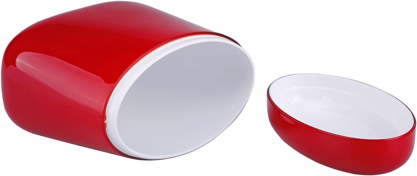 Guzzini Coffee Tea Sugar Jar Canister Red