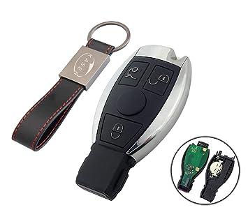 Llave para Mercedes con Tarjeta Electrónica: Amazon.es ...