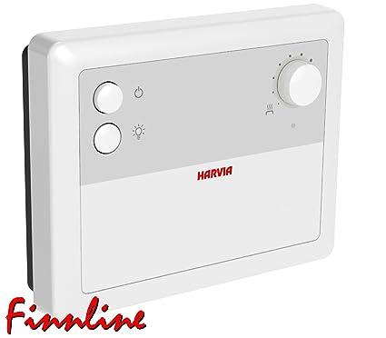 Sauna Control cf9 de Harvia I, incluye sonda de temperatura con termostato de seguridad I