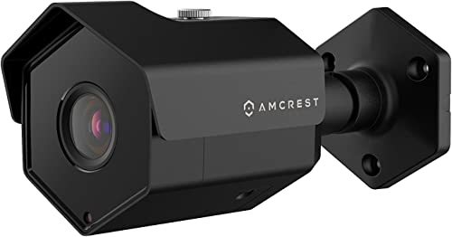 Amcrest UltraHD 5MP Outdoor POE Camera 2592 x 1944p Bullet IP Security Camera, Outdoor IP67 Waterproof, 104 Viewing Angle, 2.8mm Lens, 98ft Night Vision, 5-Megapixel, IP5M-1173EB Black
