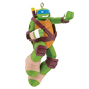 Carlton Heirloom Ornament 2017 Leonardo - Teenage Mutant Ninja Turtles #CXOR036M