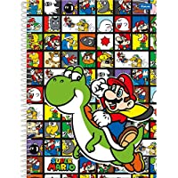 Caderno Universitário Super Mario, Foroni 63.9491-4, Multicor