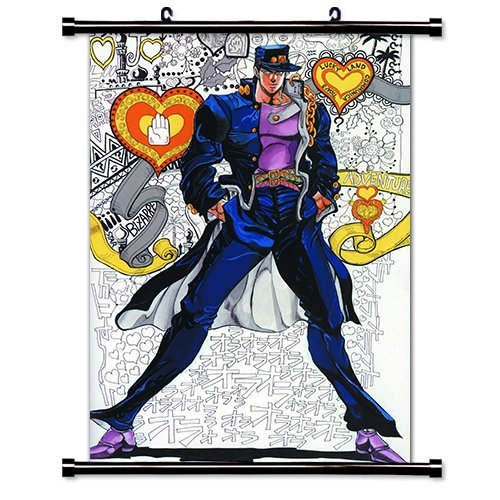 JoJos Bizarre Adventure Anime Fabric Wall Scroll Poster  Inc