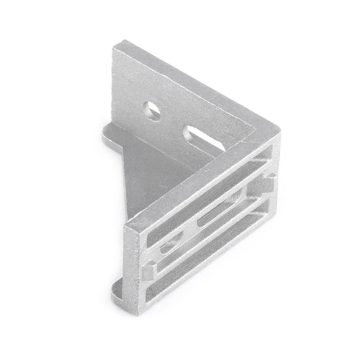 Eckwinkel 2020 Aluminium 10 St U Ck 20 X 20 X 17 Mm L F O Rmig