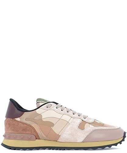 VALENTINO GARAVANI RW2S0291TCC56B Mujer Cuero Zapatillas: Amazon.es: Zapatos y complementos