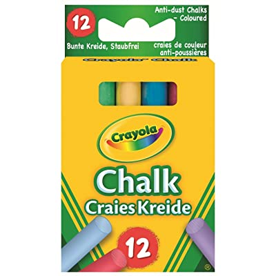 Crayola - Anti Dust Assorted Chalk: Toys & Games