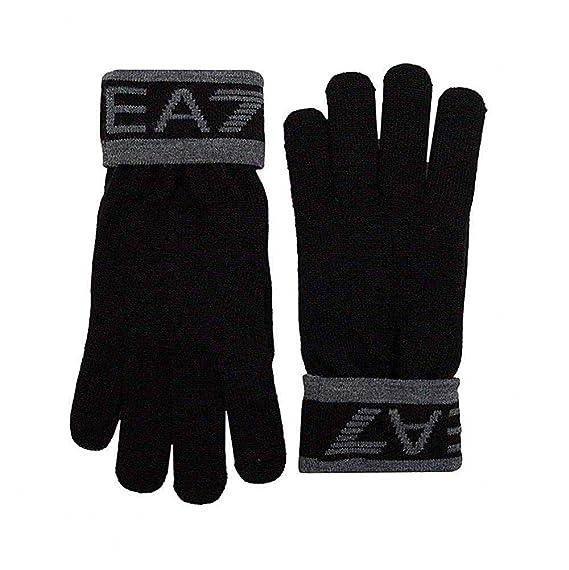 c5981613bbcd Emporio Armani EA7 Gants 275562-8a301 00020 Noir - Couleur Noir - Taille  Unique
