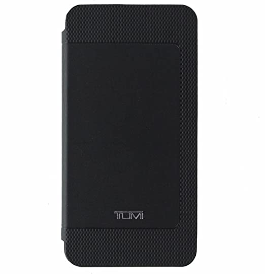 new concept 2080f aa732 Tumi Genuine Leather Folio Case Cover for Samsung Galaxy Note 5 - Black