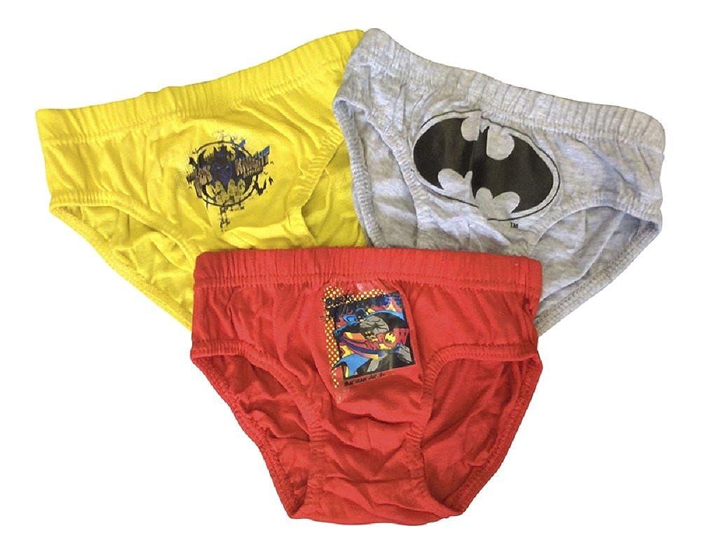 New 3pezzi ragazzi slip Batman personaggio età 2–8anni