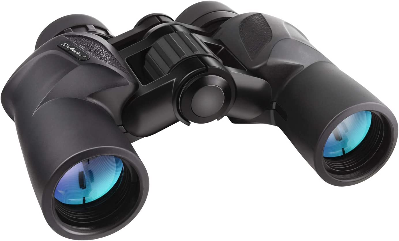 SkyGenius 7x30 Binoculars, Birding Binoculars for Adults Hunting Travelling Sightseeing with Low Light Vision