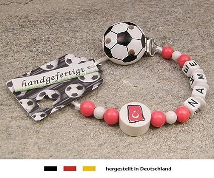 Baby Chupete Cadena con nombres, diseño fútbol Turquía ...