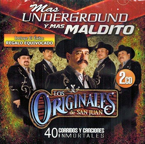 Los Originales de San Juan (40 Corridos y Canciones Inmortales) UNDERGROUND by Los Originales de San Juan
