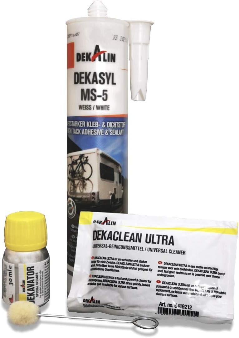adhesivas Juego Dekalin Dekasyl MS de 5–290Ml–Blanco