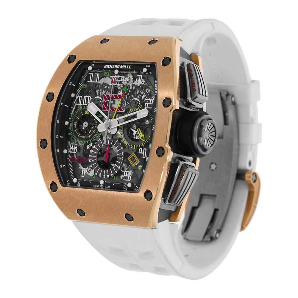 Richard Mille RM 011 RM011-02 - Reloj automático, diseño de autobús: Richard Mille: Amazon.es: Relojes
