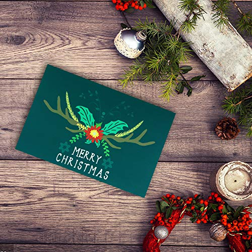 Christmas Cards Greeting Cards, Pop Up Cards, 3D Greeting Card (Green) Photo #9