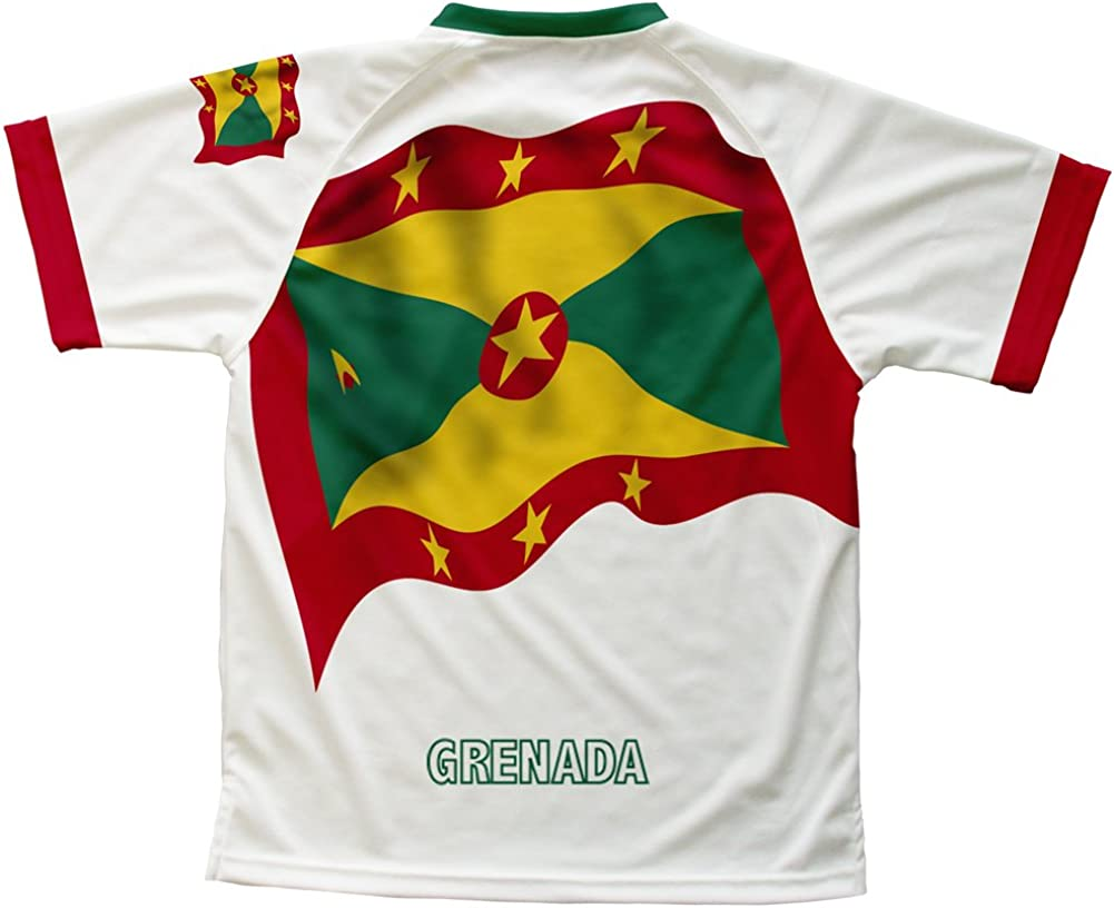 ScudoPro Grenada Flag Technical T-Shirt for Men and Women
