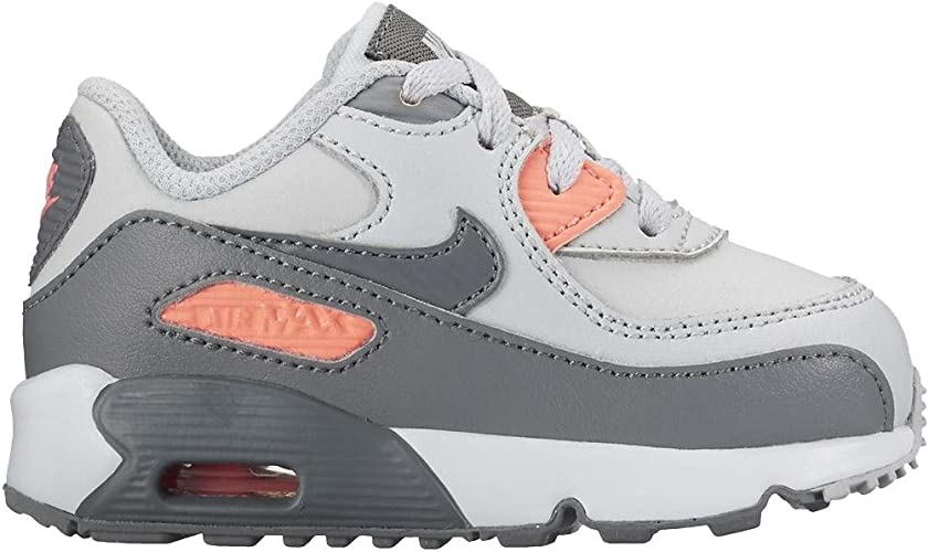 NIKE Girls Air Max 90 Leather (TD) Toddler Shoe