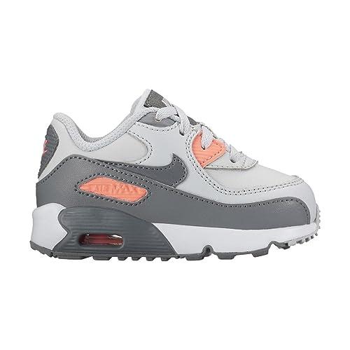 Nike Zapatilla Para Bebe Air Max 90 LTR (TD) 9: Amazon.es: Zapatos y complementos