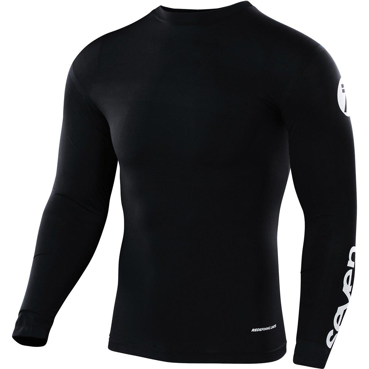 Seven Zero Staple Compression Jersey-Black-L