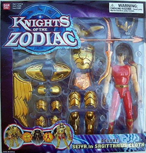 "Knights of the Zodiac Deluxe Seiya in Sagittarius Cloth 8"" Figure"