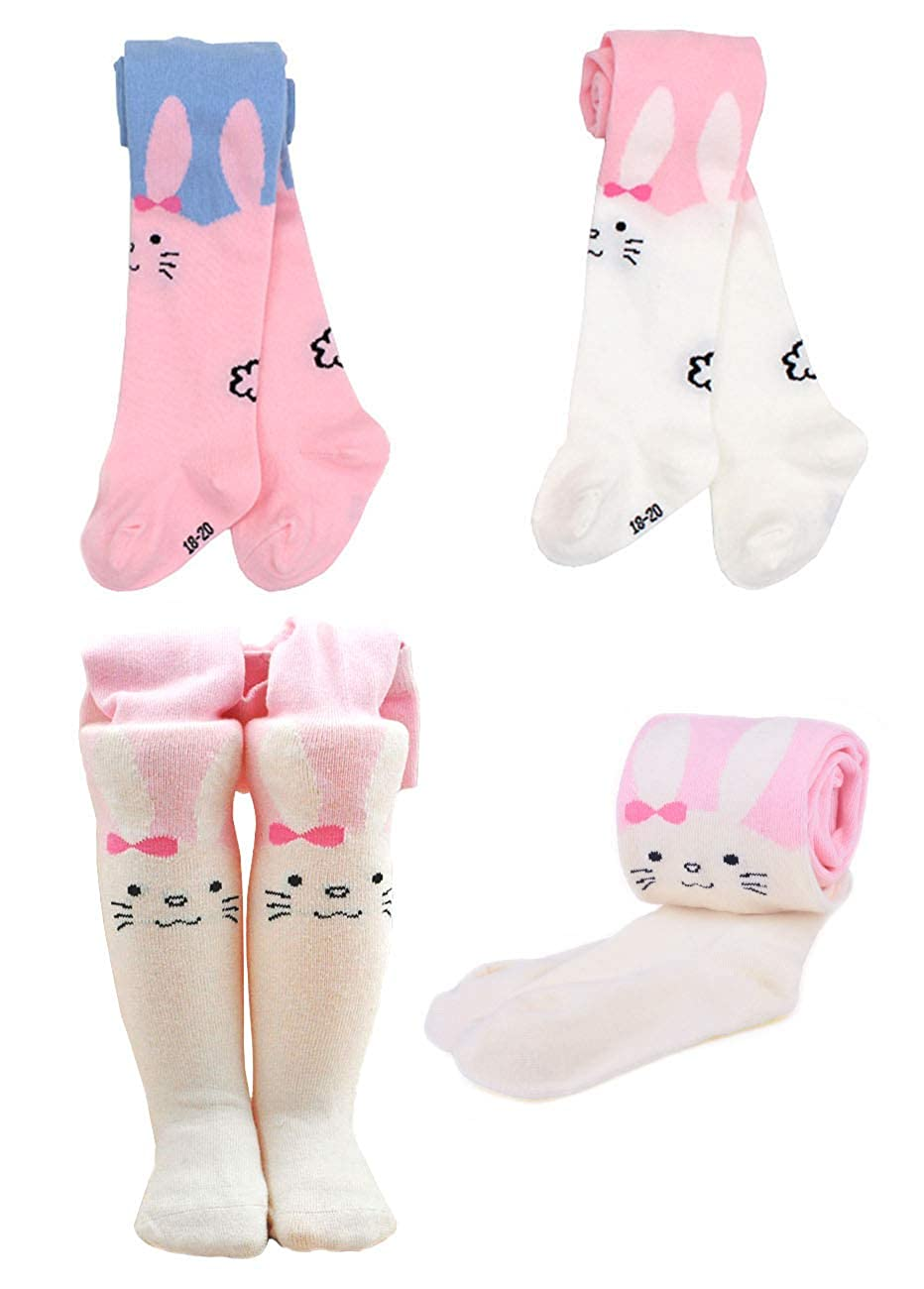 EIAY Shop Kids Seamless Cotton Tights Girls Pantyhose Dance Stockings 3-6 Years Cute