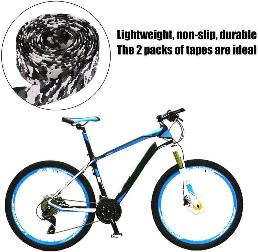 Garciakia Colorful Cycling Handle Belt Bike Bicycle Cork Handlebar Tape Wrap 2 Bar Free