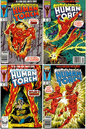 The Saga of the Original Human Torch - 4 Issue Story