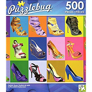 Fashion Shoes - 500 Piece Jigsaw Puzzle - Puzzlebug - p 004