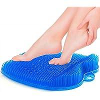 cepillo masajeador de pies de ducha con ventosas