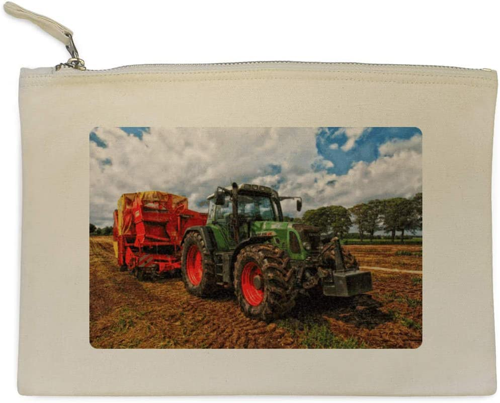 Azeeda Tracteur Pochette en Toile CL00003260 /étui /à Accessoires
