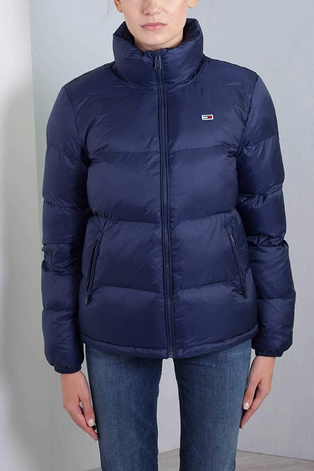 09265ed0c314 Tommy Hilfiger Women s Puffer Jacket with Down Fill Classics Collection Down  Coat  Amazon.co.uk  Clothing