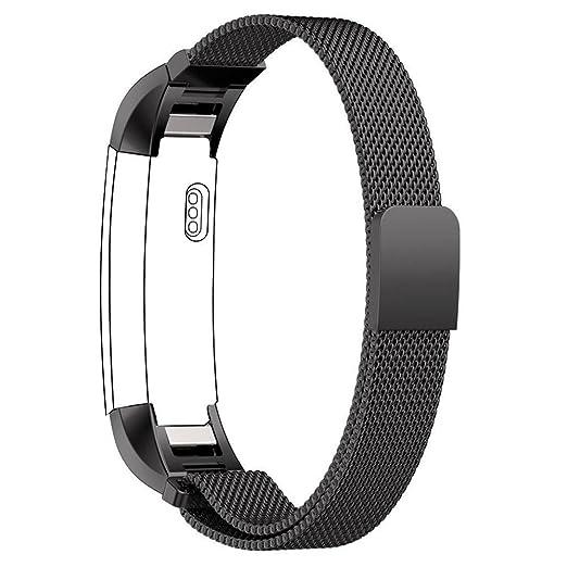 87 opinioni per Fitbit Alta Bande Cinghia, PUGO TOP milanese magnetica Loop di ricambio in
